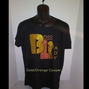 Boss Lady Fitted T-Shirt